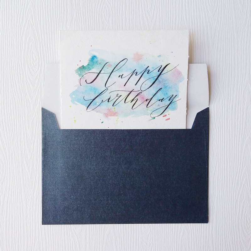 Mstandforc Fantasy Handmade Card|Happy Birthday