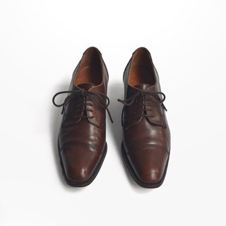 90s Italian Latent Elegant Leather Shoe | Ralph Lauren Derby US 6.5 B EUR 36