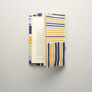 Book cover / iron house / yellow blue