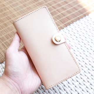 hykcwyre Hand-Stitched Long and Slim Wallet, Functional, Stylish, Personalise