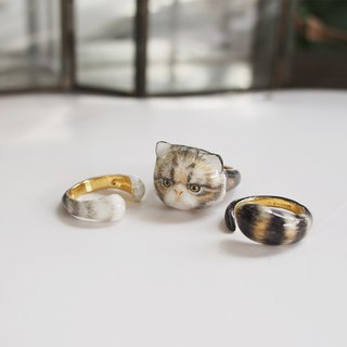 Cat Ring Set Collection