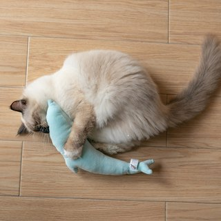 Pidan catnip dolphins toy green