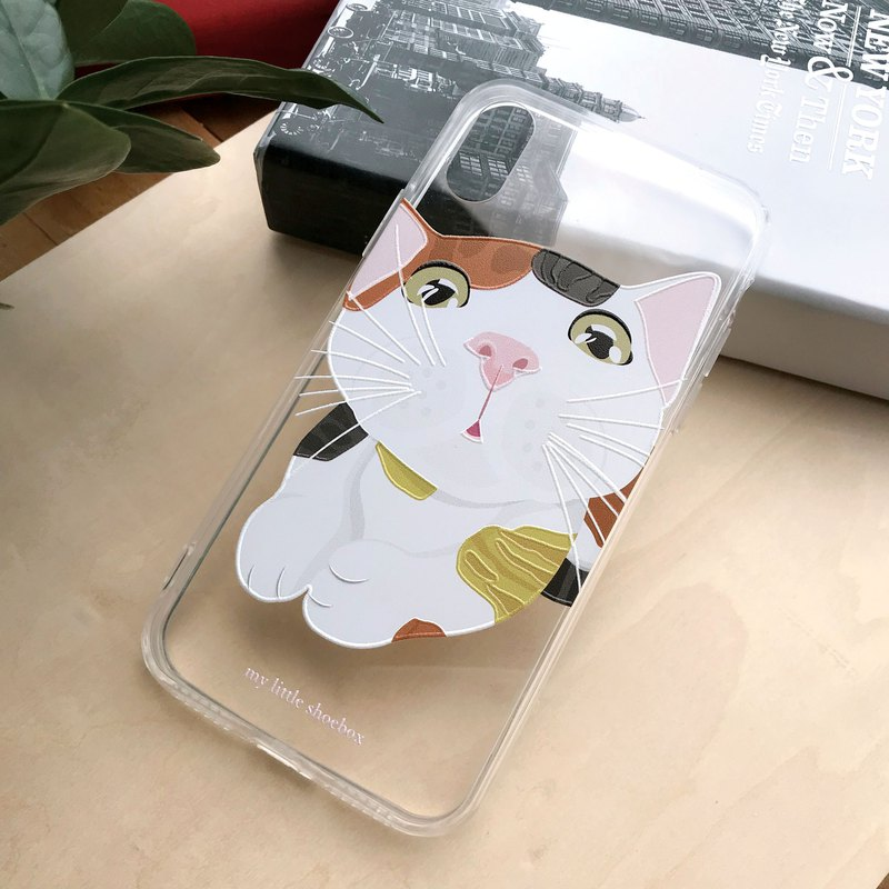 3 Color Cat Phone Case