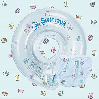 Swamava baby swim necklace / swim suit set