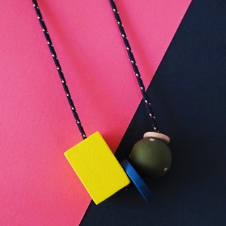 The Geometric Series Necklace – Tyra by unit515