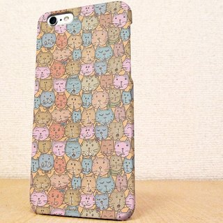 (Free shipping)iPhone case GALAXY case ☆Face of a lot of cats