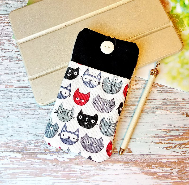 iPhone sleeve, Samsung Galaxy Note 8 case, cell phone pouch, iPod sleeve (P-264)