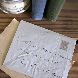 Antique Envelope No.2 Handwritten Old Letter