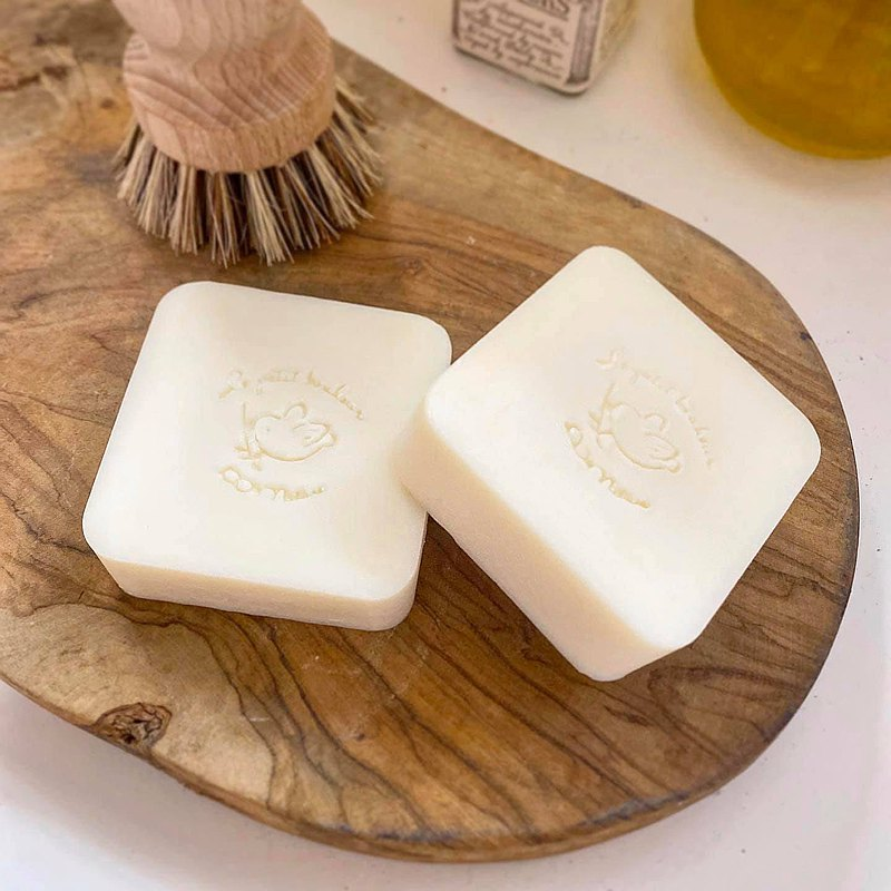 Coconut oil olive family soap three into the group