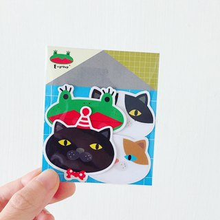 E*group house series big head No. 2 H building waterproof sticker styling sticker sticker package