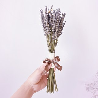 WANYI Lavender Bouquet (Middle) Dry Flower / Home Decor / Wedding Small Object / Wedding / Gift