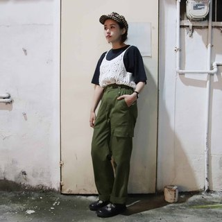 Tsubasa.Y ancient house with ancient British pants, military trousers and ancient military pants