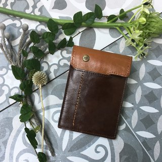 Professional handmade - handmade leather business card holder (No. 9)