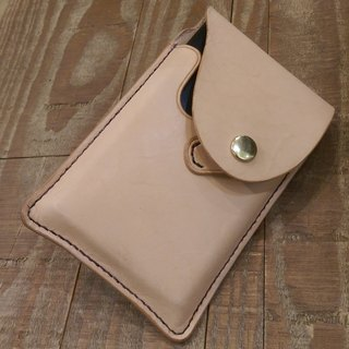Handmade leather SONY action Drive Case ((free printing, embroidered words)