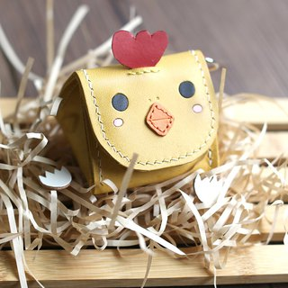 Royal rice ball chicken animal stereo coin purse