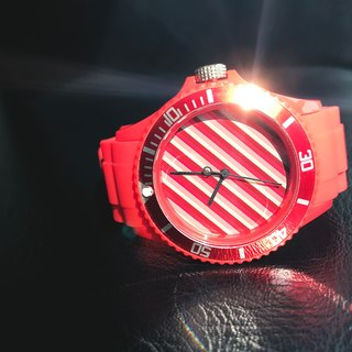 【PICONO】Color Fun Sport Watch - Red / BA-CF-03