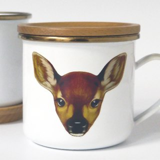 Green idea | Deer Enamel lid set