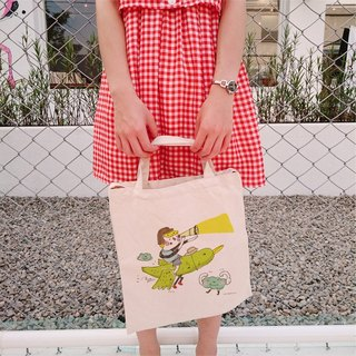 Find their own piece of heaven straight canvas bag