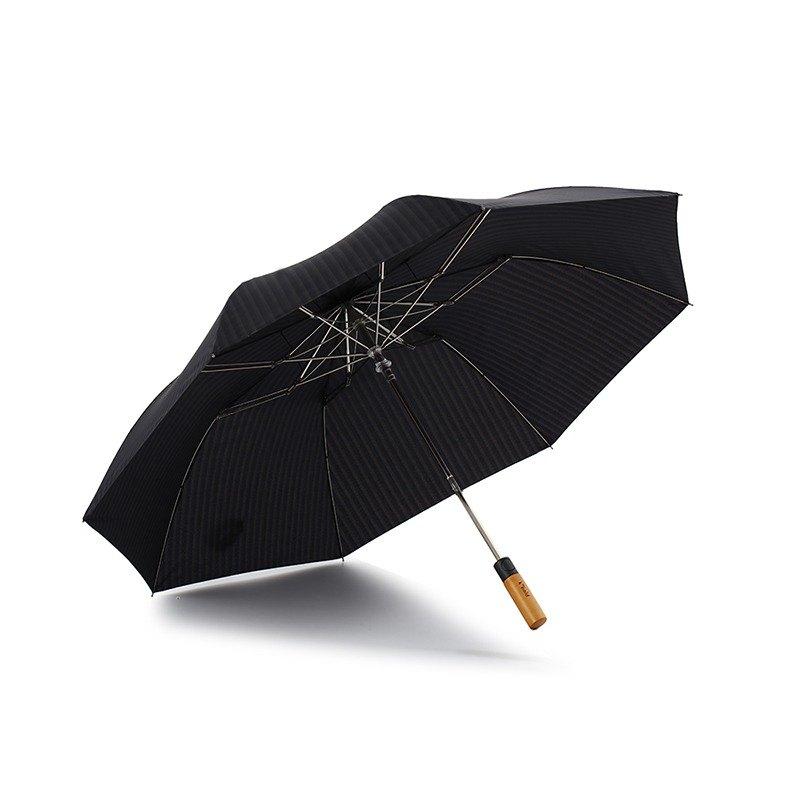 e4ac4189a24fd [German kobold] UV resistant wind classic straight gentleman umbrella -  maple straight handle - 30 percent automatic umbrella - dark gray blue -  Shop kobold ...