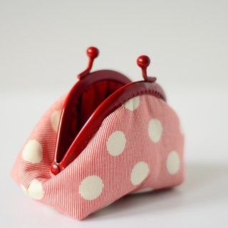 A very small coin purse - Dotted (XL)