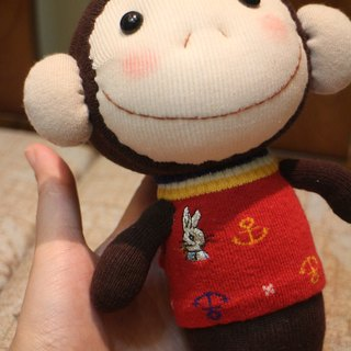 Courage monkey Yangyang - Martins baby socks