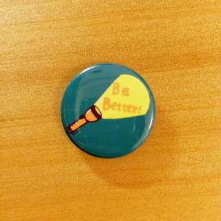 Darwa - Be Better Flashlight - badge