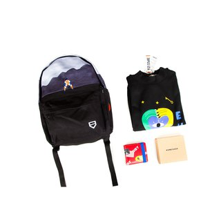 YIZISTORE Christmas Lucky Bag Lucky Bag One Rear Backpack + One Sweater + One Small Wallet