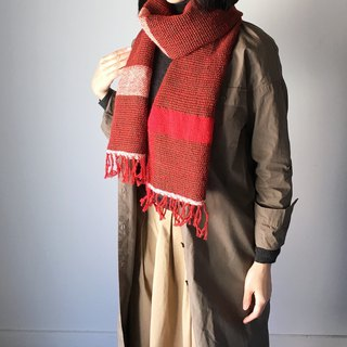 Unisex Scarf/Brown and Red Mix 2