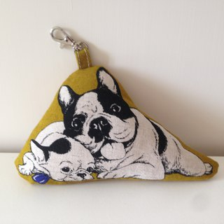 Humorous French Bulldog Ornament - Second Bomb