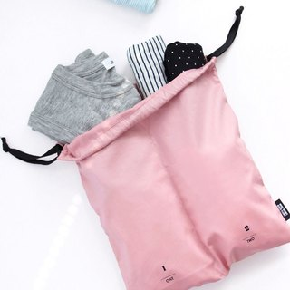 ICONIC Travel Separated Drawstring Pocket - Clothing - Pink, ICO52514