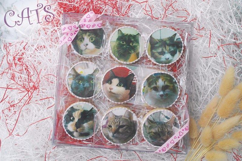 作品集 客製貓咪生日禮物/糖霜餅乾