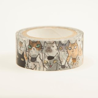 Three cat shop - cat catboy sea paper tape