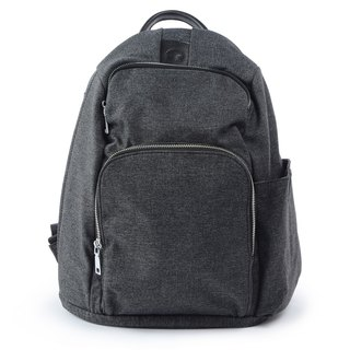 La Poche Secrete : Cosmic Girl's Lightweight Back Backpack_Storage Journey Safe_Brave Black