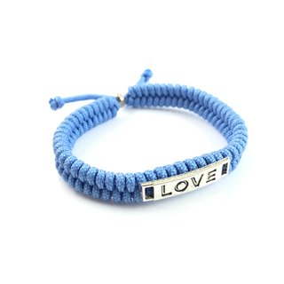 Valentine's flagship product - LOVE [Love] light blue hand-rope models