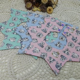 Dog daily star pocket / baby bibs / saliva towel [ST171104]