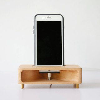 Sound forest - wooden mobile phone amplifier (beech) - [VUCA-Design] plus purchase system