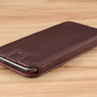 STORYLEATHER made (APPLE SAMSUNG HTC SONY LG) Style E4 glasses case with a holster