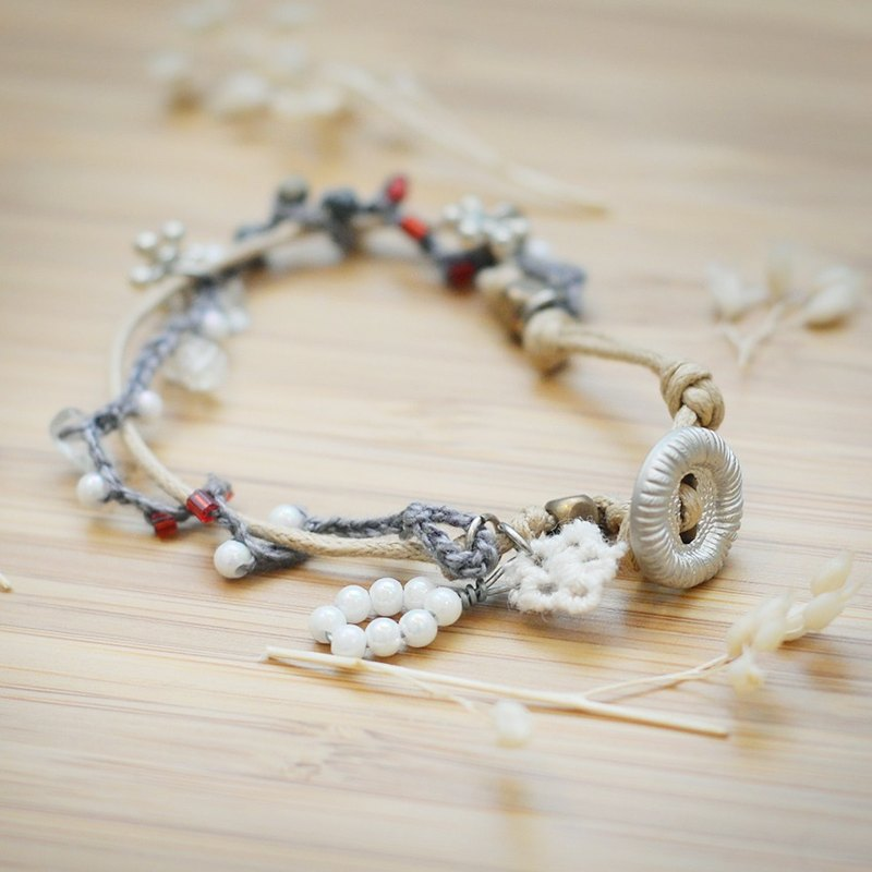 a beautiful handmade bracelet by niyome craft