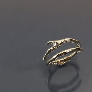 Branch 925 silver male ring