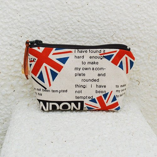 Flag British style small storage bag