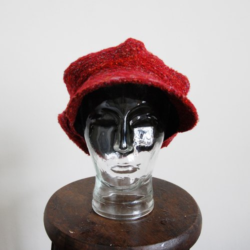 Vintage wool newsboy caps