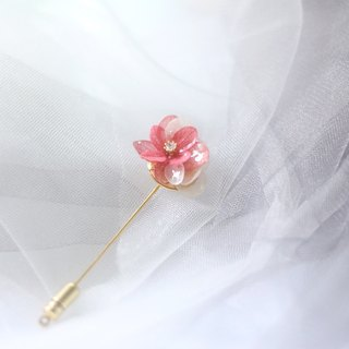 One Refinement F.MISS Mild Japanese - Eternal Flower \ Dried Flower Zijian Flower / Hydrangea Dijiao Hand Brooch / Needle / Accessories