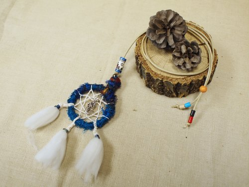 Handmade Dreamcatcher Necklace~ Valentine's Day gift birthday gift Christmas gift of natural stone. Indiana.