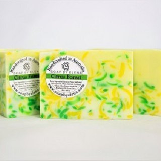 Australia Soap by Elena natural handmade soap - citrus forest