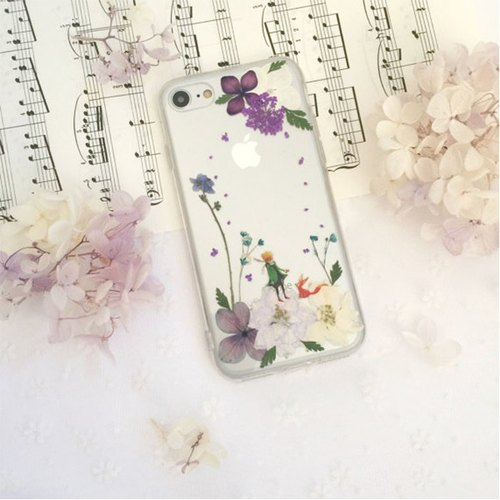 Limited Little Prince Pressed Flower Phone Case | Little Prince Design