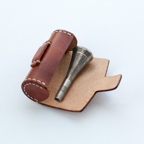 All hand sewn tanned leather leather leather case