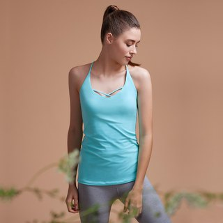 [MACACA] Vanilla Yoga 3D Vest - AQE1683 Light Blue