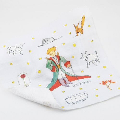 The Little Prince Classic authorization: [judge] gentle - soft cotton small square (280g)
