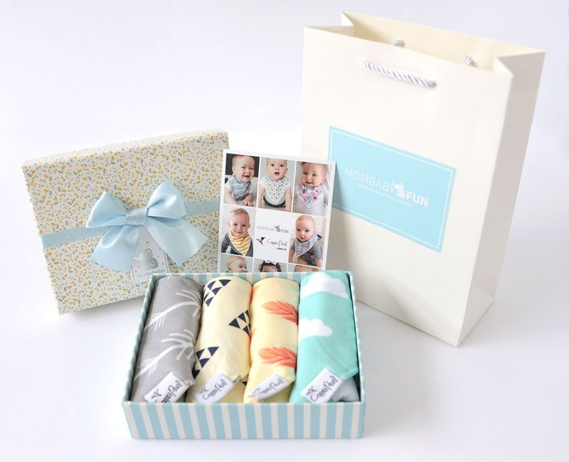 Copper Pearl bib special packaging package [gift box + gift bag]