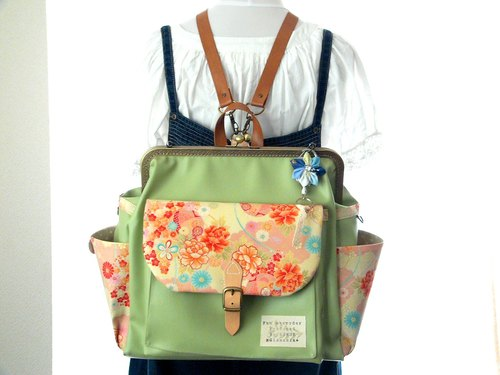 Made in japan  3WAYBackpack Big size Japanese pattern KODEMARI